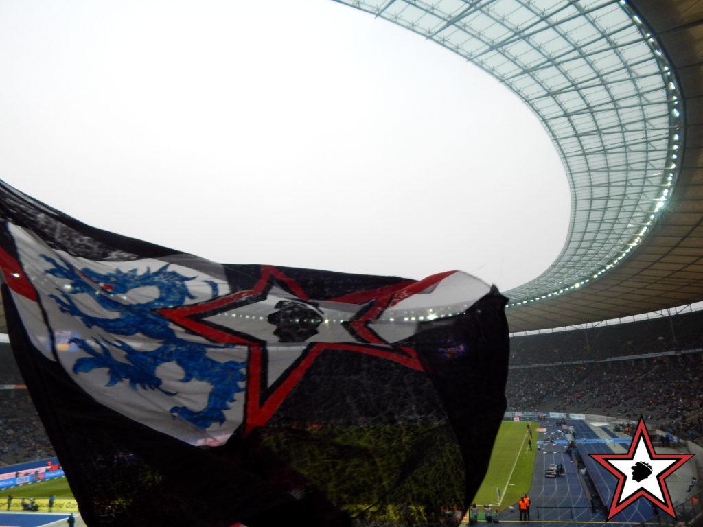 Hertha BSC - FC Ingolstadt 04.02.2017 hertha berlin fci supporters ingolstadt auswärts ultras fans fußball
