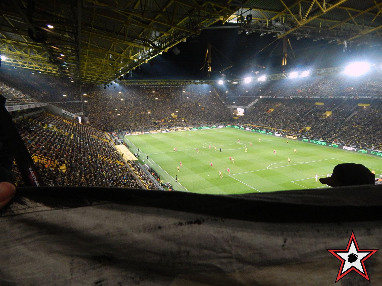 Borussia Dortmund - FC Ingolstadt 17.03.2017 bvb fci supporters ingolstadt auswärts ultras fans fußball