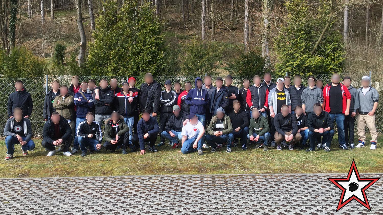 TSG 1899 Hoffenheim - FC Ingolstadt 04.03.2017 tsg fci supporters ingolstadt auswärts ultras fans fußball
