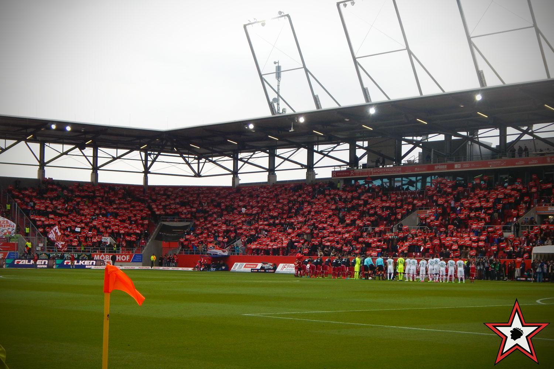 FC Ingolstadt – SV Werder Bremen 22.04.2017 fci mainz supporters ingolstadt südtribüne ultras fans fußball