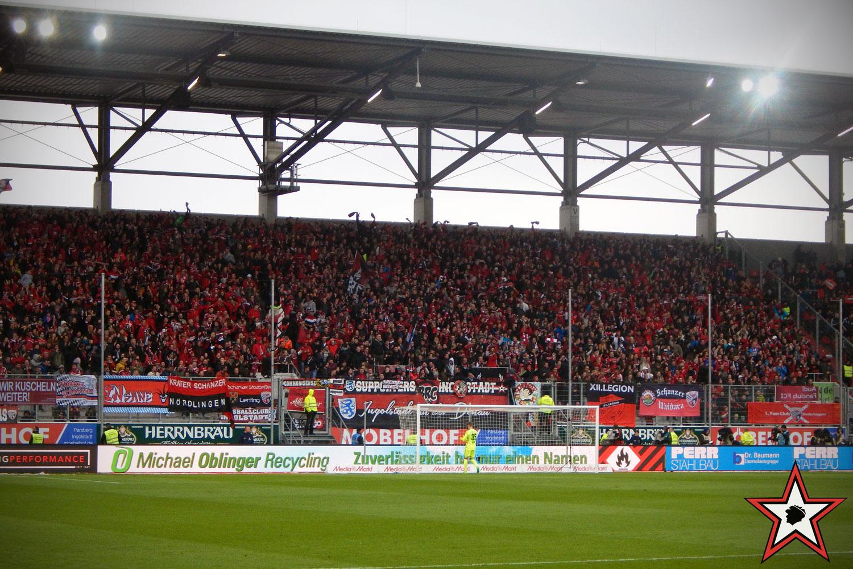 FC Ingolstadt – SV Werder Bremen 22.04.2017 fci svw supporters ingolstadt südtribüne ultras fans fußball