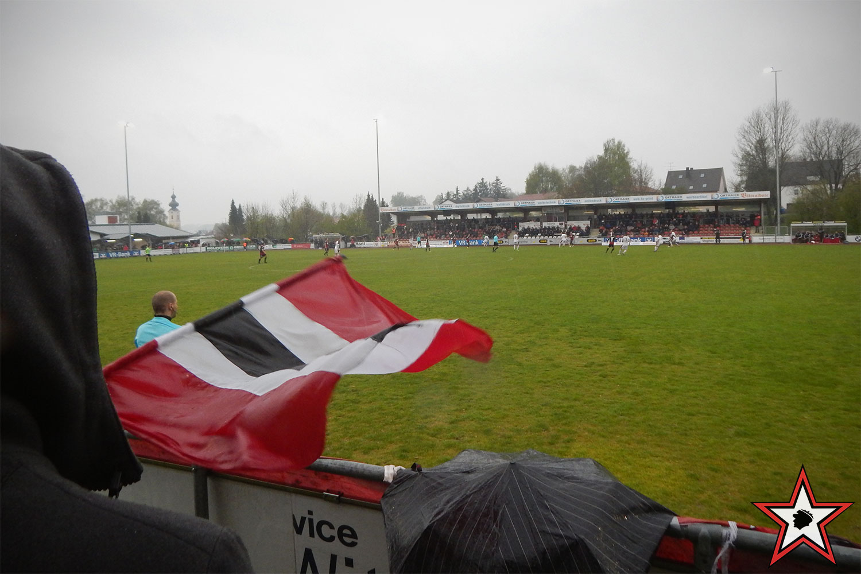 RB Leipzig - FC Ingolstadt 28.04.2017 Alternativprogramm rbl fci supporters ingolstadt auswärts ultras fans fußball