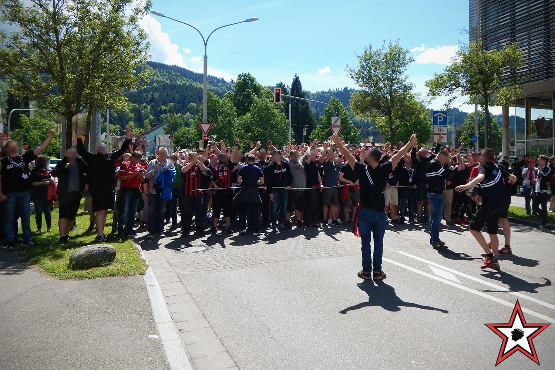 SC Freiburg - FC Ingolstadt 13.05.2017 scf fci supporters ingolstadt auswärts ultras fans fußball