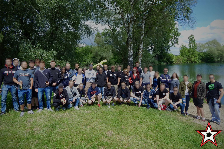 FC Ingolstadt – FC Schalke 04 20.05.2017 fci s04 supporters ingolstadt südtribüne ultras fans fußball