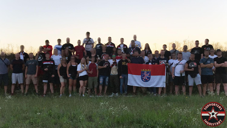 SV Sandhausen – FC Ingolstadt 04.08.2017 svs fci supporters ingolstadt auswärts ultras fans fußball
