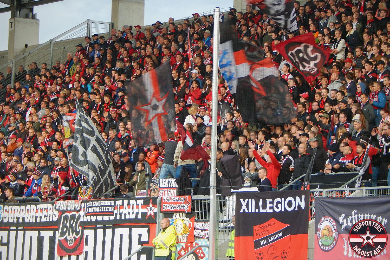 FC Ingolstadt – MSV Duisburg 19.09.2017 fci msv supporters ingolstadt südtribüne ultras fans fußball