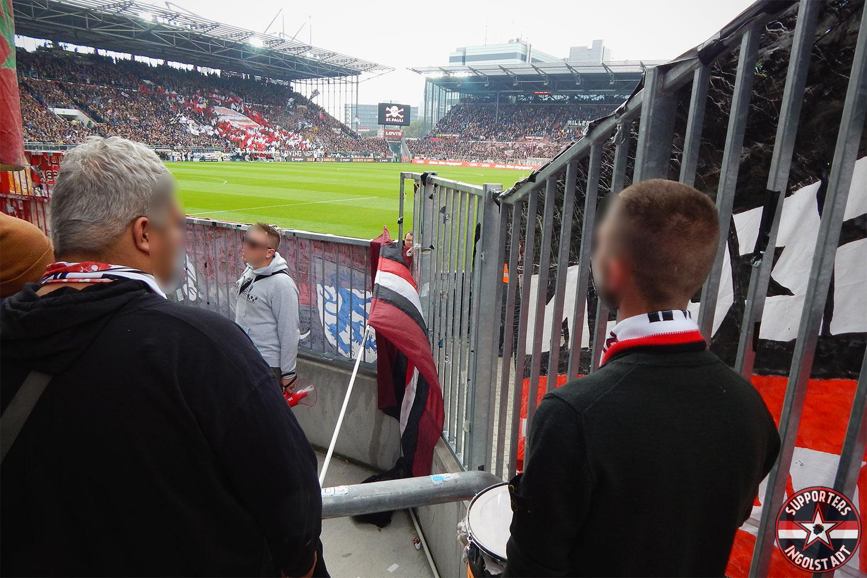 FC St. Pauli – FC Ingolstadt 16.09.2017 fcsp fci supporters ingolstadt auswärts ultras fans fußball