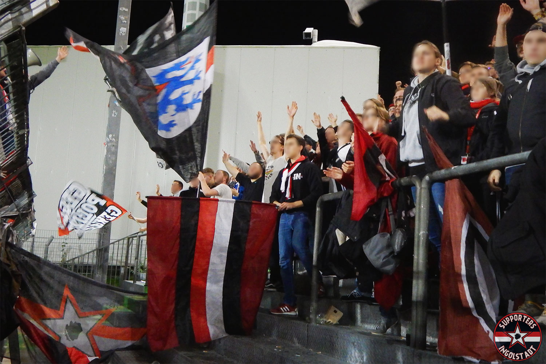 SpVgg Greuther Fürth – FC Ingolstadt 24.10.2017 spvgg fci supporters ingolstadt auswärts ultras fans fußball