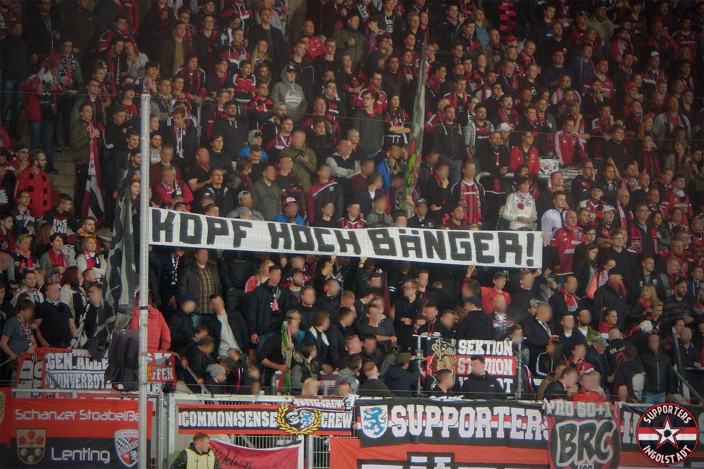 FC Ingolstadt - FC Heidenheim 20.10.2017 fci fch supporters ingolstadt südtribüne ultras fans fußball