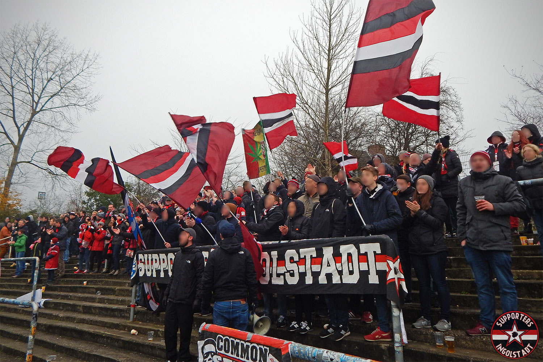 Holstein Kiel - FC Ingolstadt 25.11.2017 ksv fci supporters ingolstadt auswärts ultras fans fußball