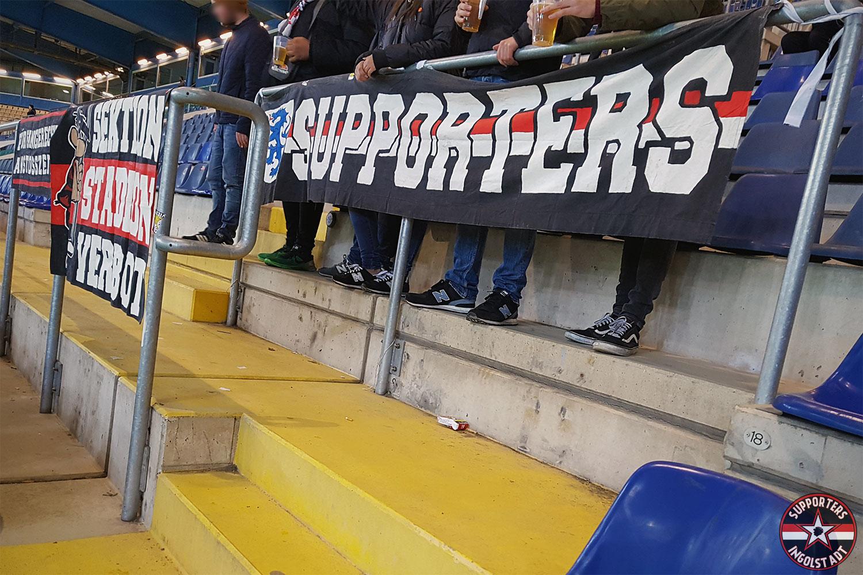 Arminia Bielefeld – FC Ingolstadt 27.10.2017 dsc fci supporters ingolstadt auswärts ultras fans fußball