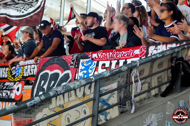 Eintracht Braunschweig - FC Ingolstadt 06.05.2018 btsv fci supporters ingolstadt auswärts ultras fans fußball