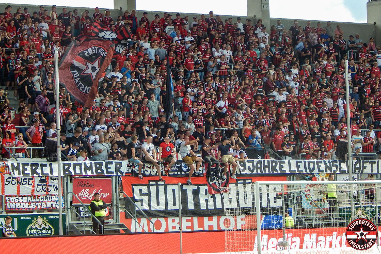 FC Ingolstadt - 1.FC Kaiserslautern 13.05.2018 fci fck supporters ingolstadt südtribüne ultras fans fußball