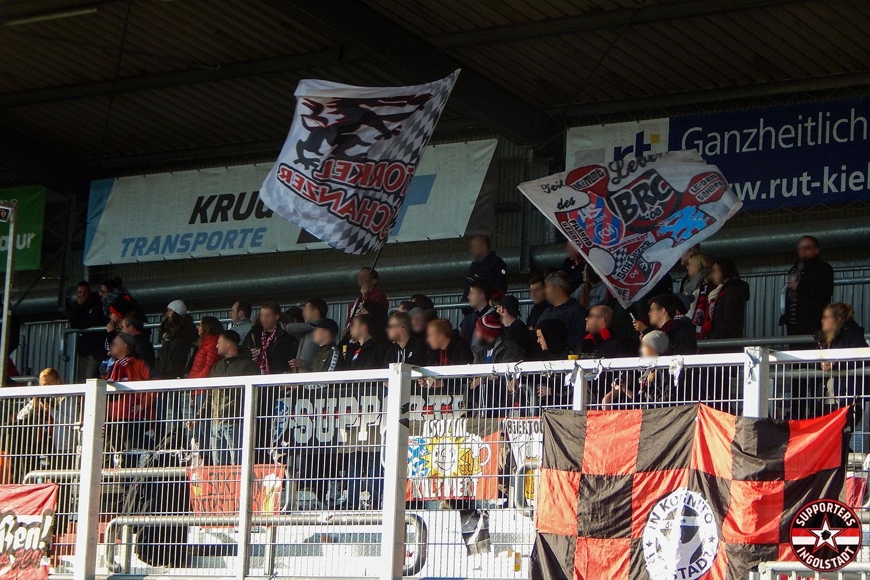 Holstein Kiel - FC Ingolstadt 03.11.2018 ksv fci supporters ingolstadt auswärts ultras fans fußball