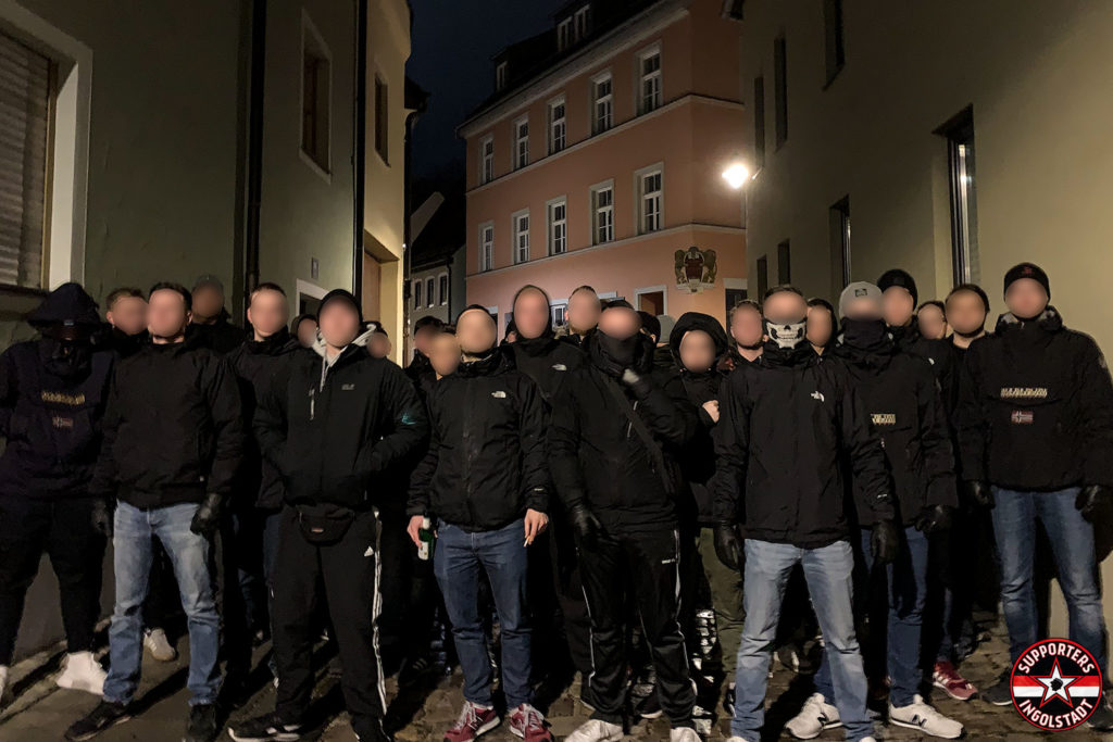 FC Ingolstadt - SSV Jahn 2000 Regensburg 22.12.2018 fci ssv supporters ingolstadt südtribüne ultras fans fußball hooligans